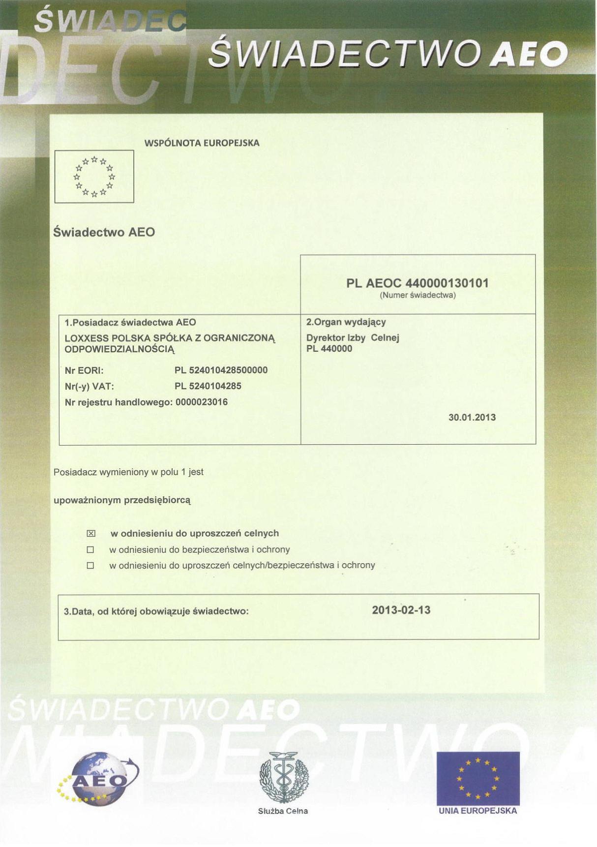 Certyfikat_AEO