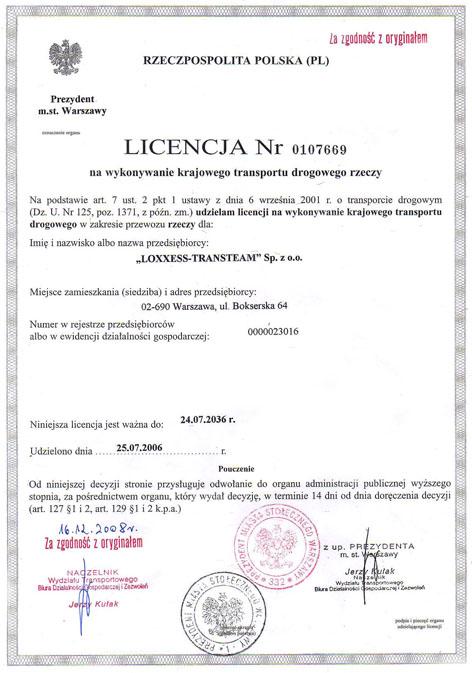 licencja_transport